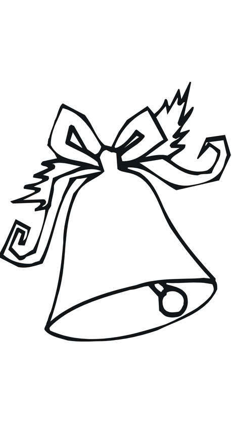 Free Coloring Pages Of Christmas Bell