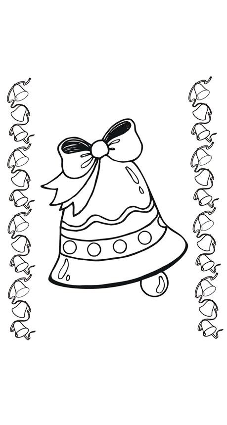 malvorlage glocke weihnachten  x13 ein bild zeichnen