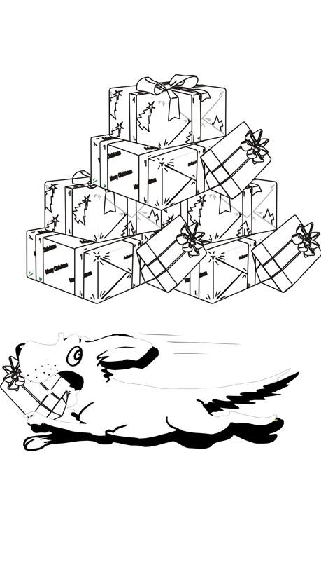 weihnachten malvorlagen geschenke malvorlagen geschenke